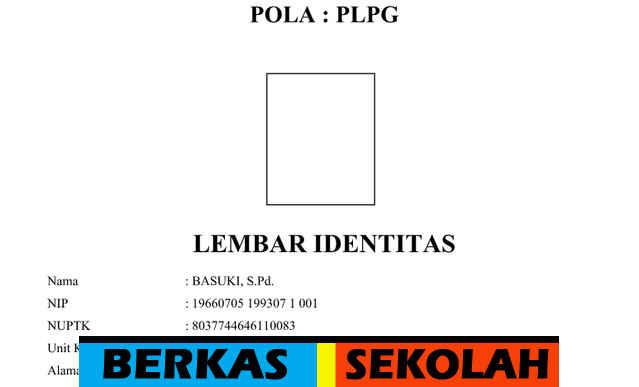 Download Gratis Berkas Persyaratan Sertifikasi Tahun 2016 Pola PLPG