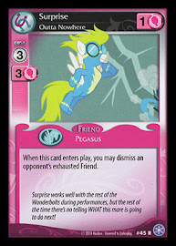 My Little Pony Surprise, Outta Nowhere The Crystal Games CCG Card