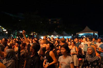 Kemeriahan Borneo Jazz Festival