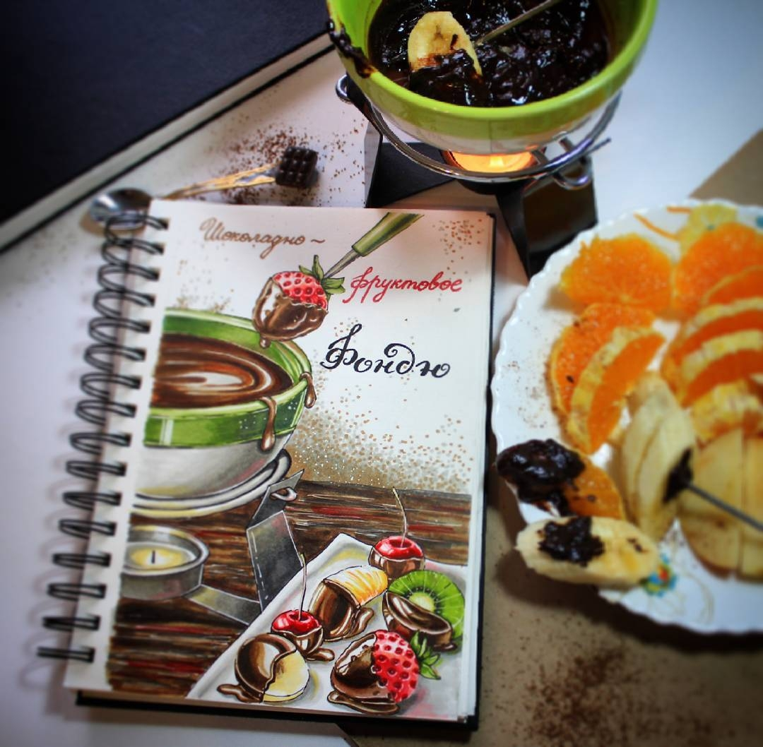 10-stepashkina-Cakes-Pastries-and-Drinks-Food-Art-Drawings-www-designstack-co