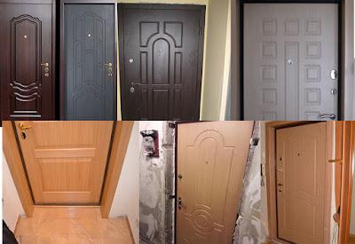 мдф накладки на входной двери