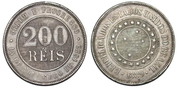Algumas moedas brasileiras que se destacaram em nossa história.