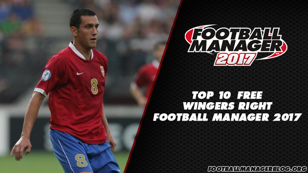 Top 10 Free Wingers Right in Football Manager 2017