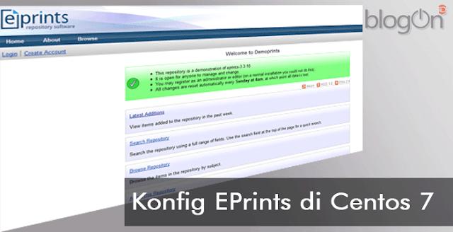 Mengatasi Tidak Bisa Upload File pada Eprints 3 pada CentOS 7