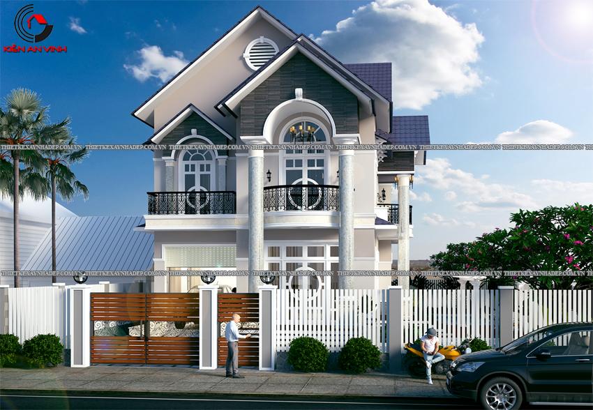 Mẫu thiết kế biệt thự nhà vườn 1 tầng đẹp hiện đại dt 150m2 Thiet-ke-biet-thu-1-tang-150m2-2