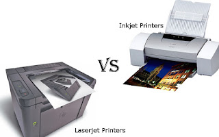 choose in Laserjet vs Inkjet