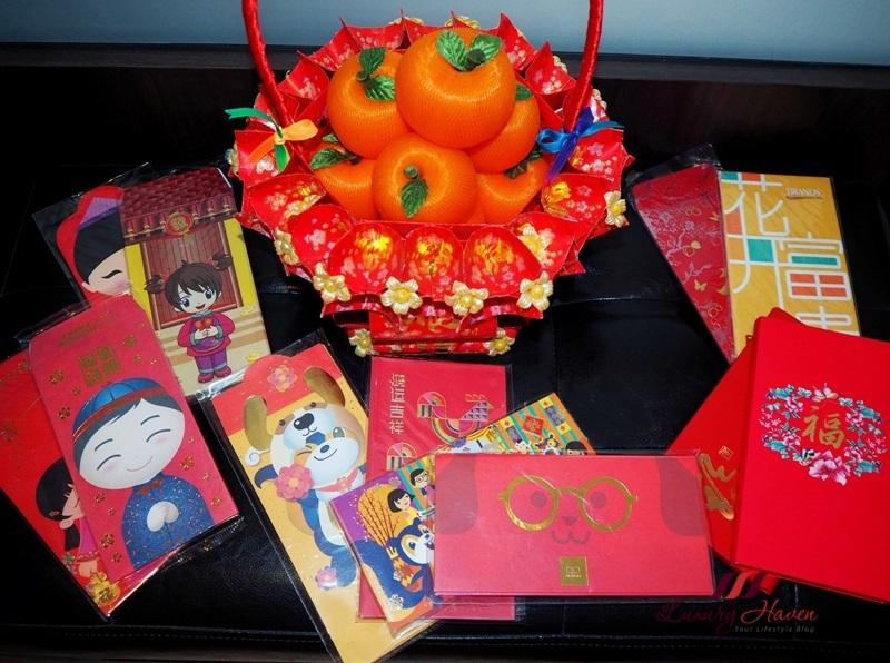 lunar new year diy ang pow basket handicraft