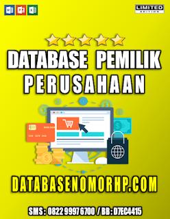 Jual Database Nasabah Nasabah Orang Kaya
