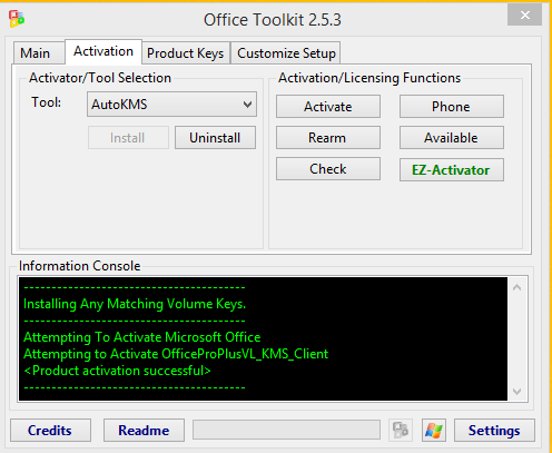 microsoft toolkit offline activator for windows and office