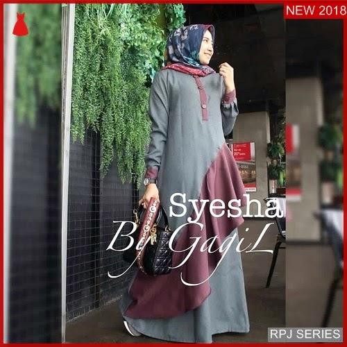 RPJ043D223 Model Dress Syesha Cantik Dress Wanita