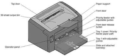 Lexmark e120, e120n laser printer service repair manua.
