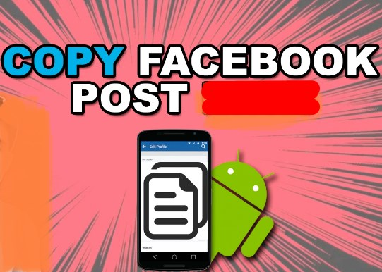 how to copy a facebook post