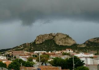 Chuva de 150 milímetros foi registrada no município de Carnaúba dos Dantas