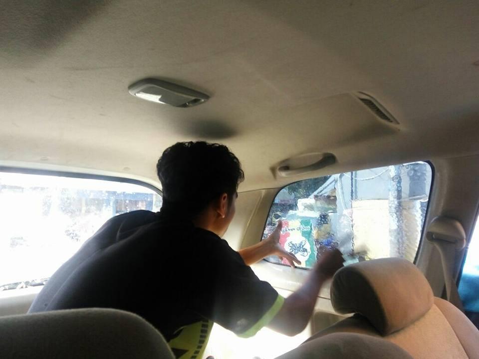 jasa pasang kaca film V-Kool untuk mobil Mitsubishi Xpander