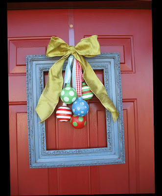 Simple Design for Lighthouse Christmas Front Door Decorations Red Door New Pic