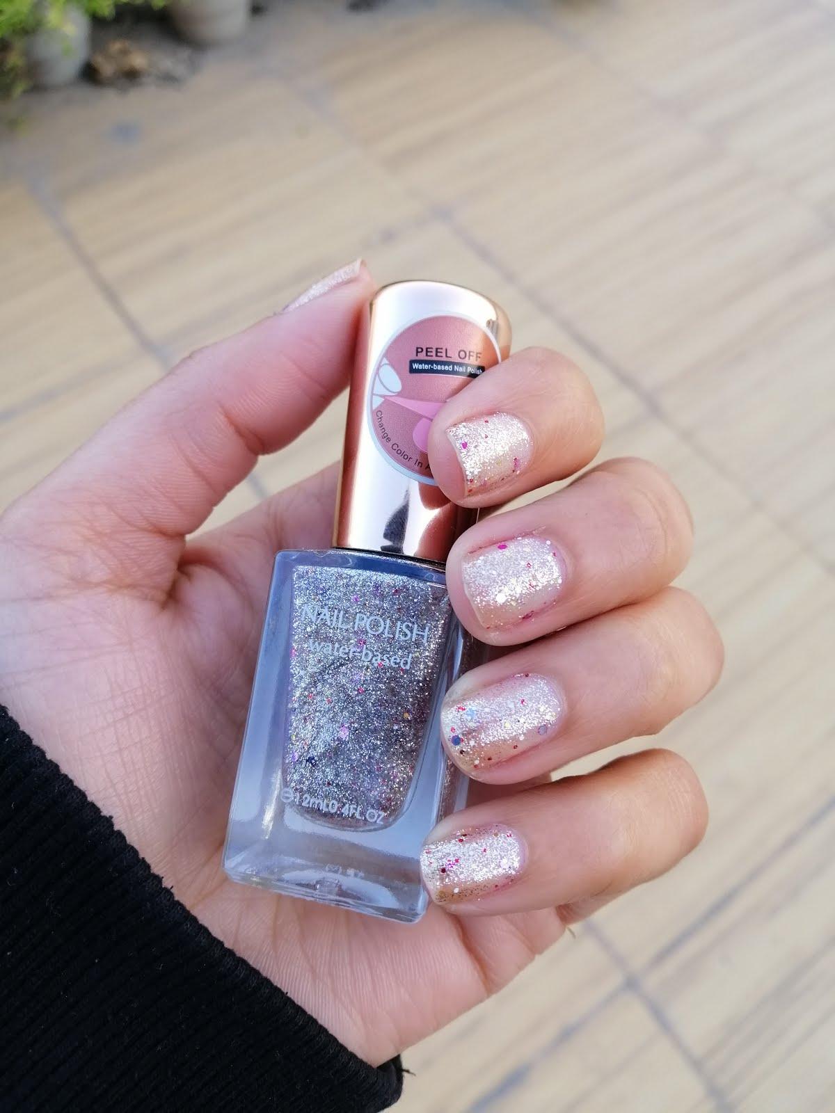 Miniso Peel Off Nail Polish Water Based Review