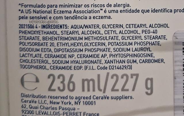 ingredientes limpiadora hidratante cerave