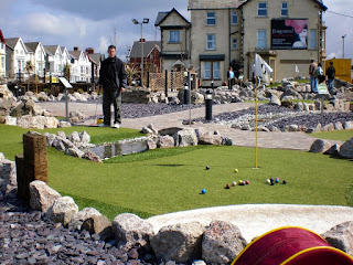 Adventure Golf course in Blackpool