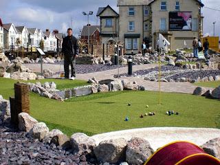 Adventure Golf course in Blackpool