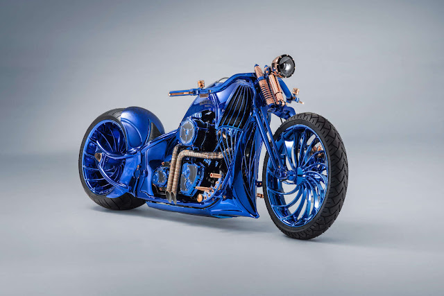 Bucherer?s $1.79 Million Harley-Davidson Blue Edition Is the World?s Most Expensive Motorcycle