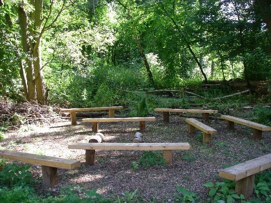 Little Scientists With Tans Outdoor Classroom Ideas