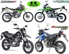 Harga Motor Kawasaki Trail