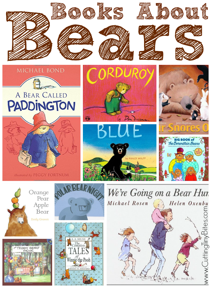 Collection of children's books about bears. Classic series, along with new favorites. Reviews of each!