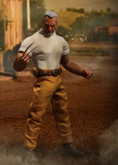 osw.zone Preview of Mezco One: 12 Collective 1 / 12. Scale Marvel Comics Old Man Logan 15cm Figure