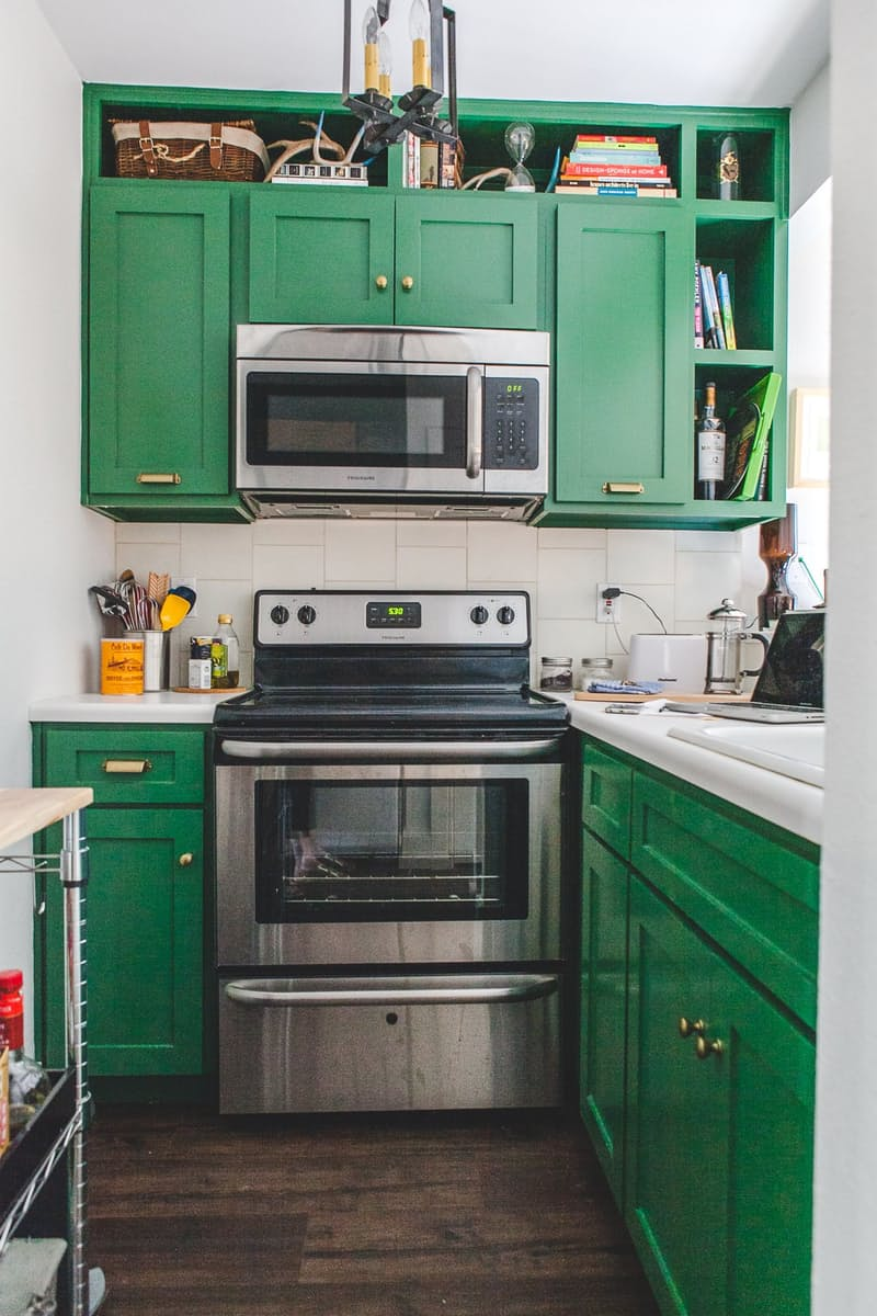 Trending Green Cabinetry Dimples And Tangles