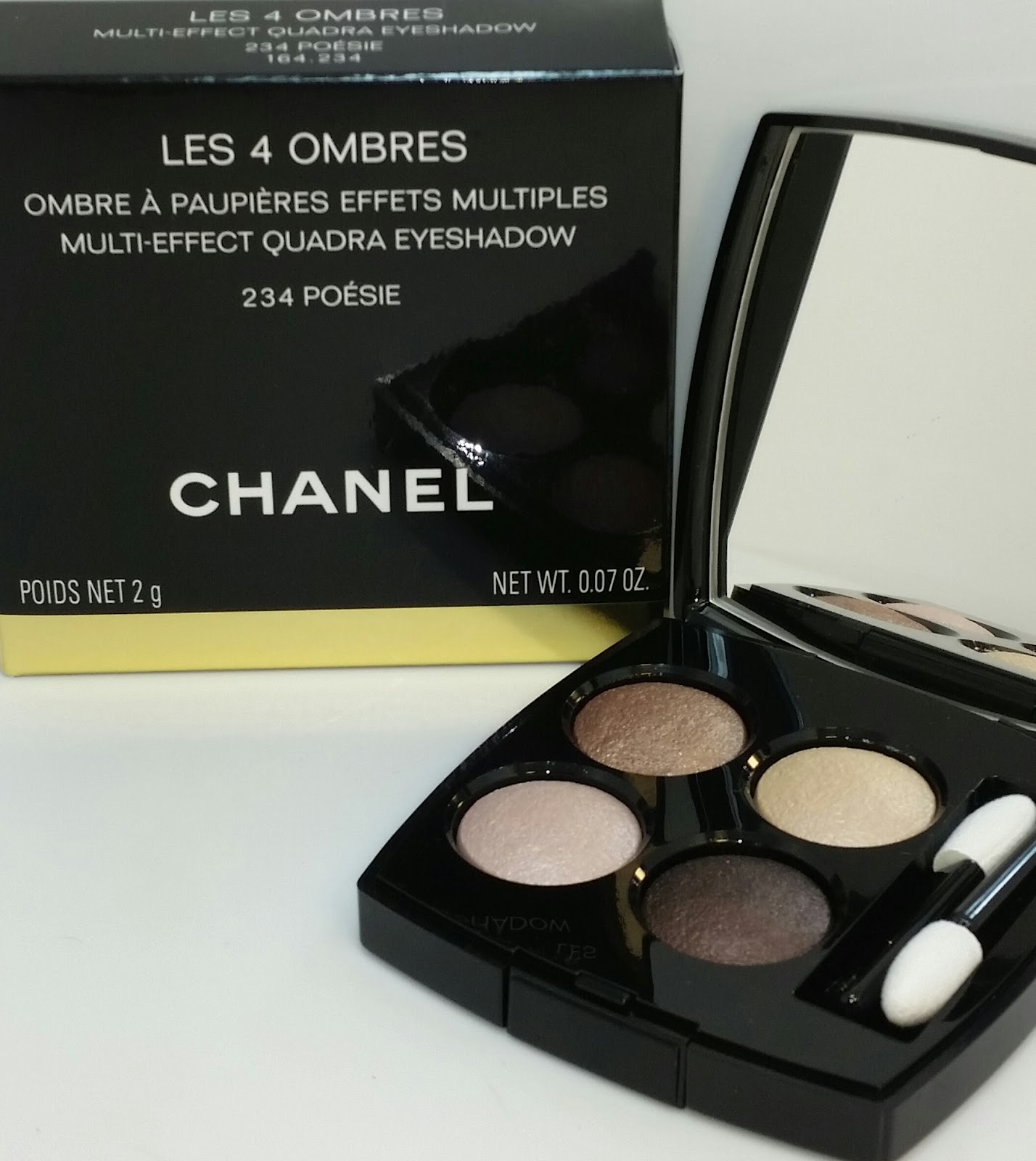69f8ce9b1a Jayded Dreaming Beauty Blog : 234 POESIE CHANEL LES 4 OMBRES MULTI ...