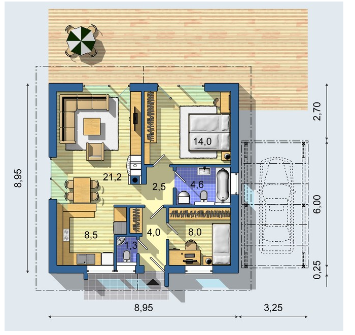 Floorplan    Frontage: 9.99m    Depth: 27.59m    Areas  Floor: 187.05m2    Garage/Store: 36.57m2    Alfresco: 15.23m2    Porch: 2.26m2    Total Area  241.11m2    SOURCE: visiononehomes    RELATED POSTS: