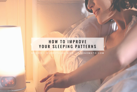 How To Improve Your Sleeping Patterns