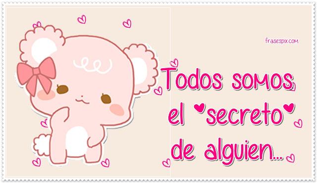 Te quiero en secreto