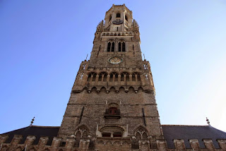 Belfort tower in Bruges