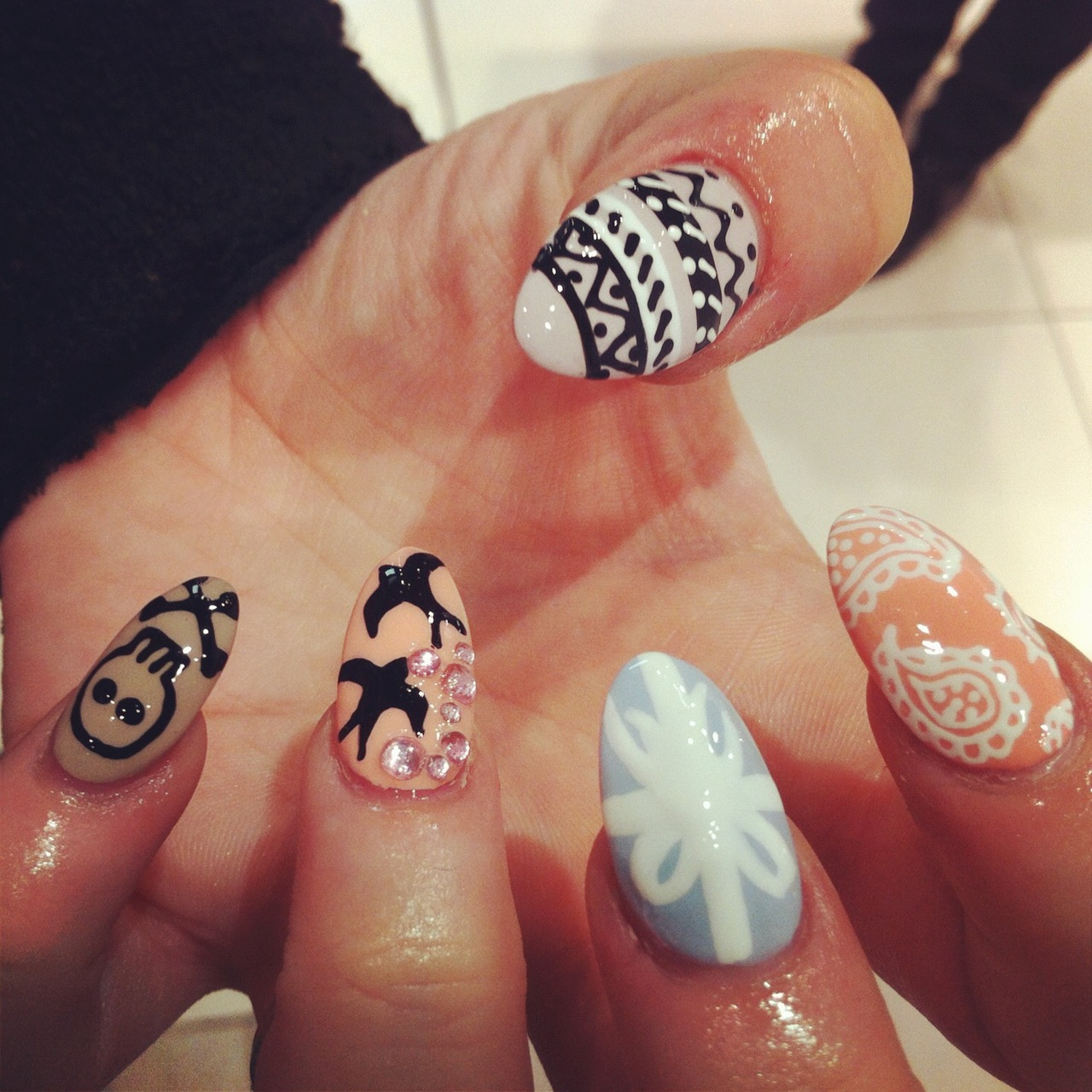 Nail Designs For Almond Shaped Nails | Best Nail Designs 2018