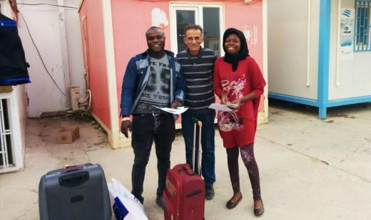International Organization for Migration assists two Nigerians to return home from Libya