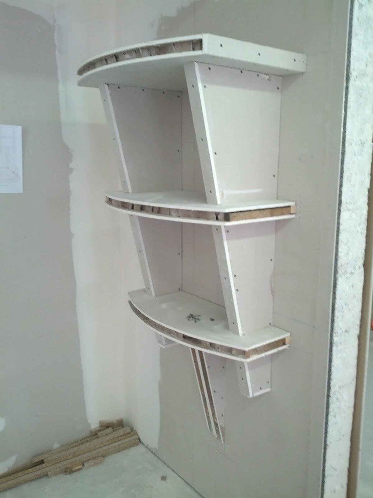 meuble deco en placo. Black Bedroom Furniture Sets. Home Design Ideas