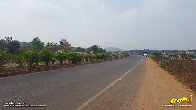 A view of NH 16 (old number NH 5)