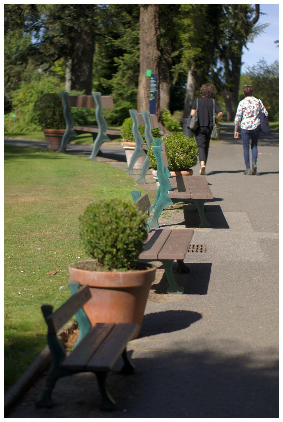 Vieux Banc De Jardin cergipontin: les bancs - benches