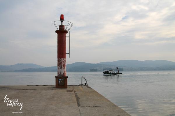 Terras de Pontevedra - Puerto de San Adrian de Cobres Ria de Vigo