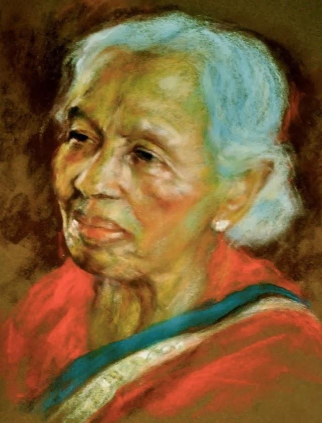 Рисунки пастелью. Margaret Ferguson