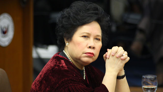 Breaking News: Sen. Miriam Santiago passes away