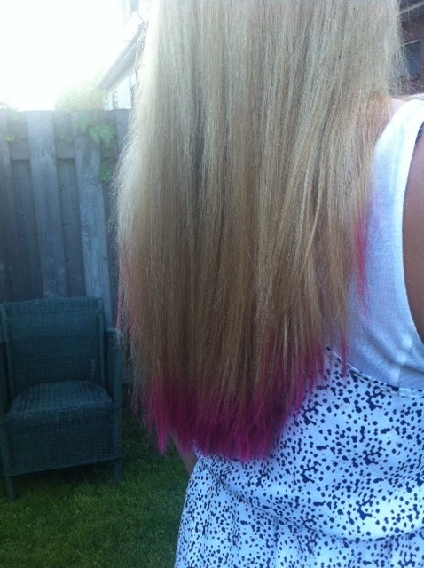 How To Get Coloured Tips On Blonde Hair