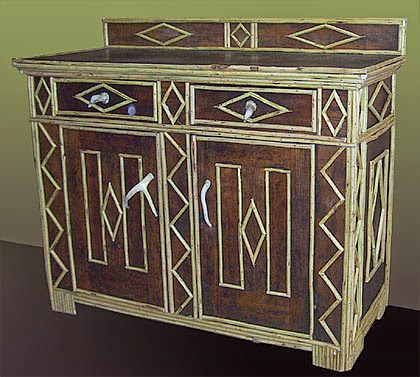 Around the Bend Willow Furniture Chest by Rick and Denise Pratt