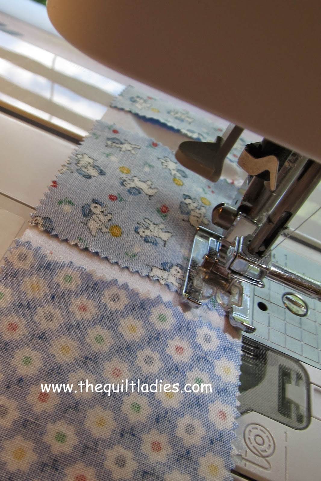 free 4-patch quilt pattern