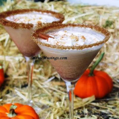 pumpkin pie spiced martini_menumusings