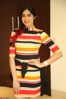 Adha Sharma in a Cute Colorful Jumpsuit Styled By Manasi Aggarwal Promoting movie Commando 2 (131).JPG