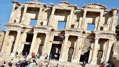 Efes Antik Kenti-Celcus Kütüphanesi Fotoğrafı