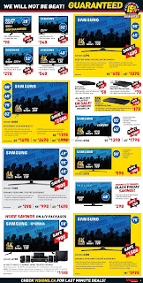 Visions electronics flyer valid August November 24 - 30, 2017 Black Friday