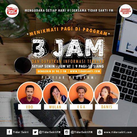 Program 3 Jam Tidar Sakti